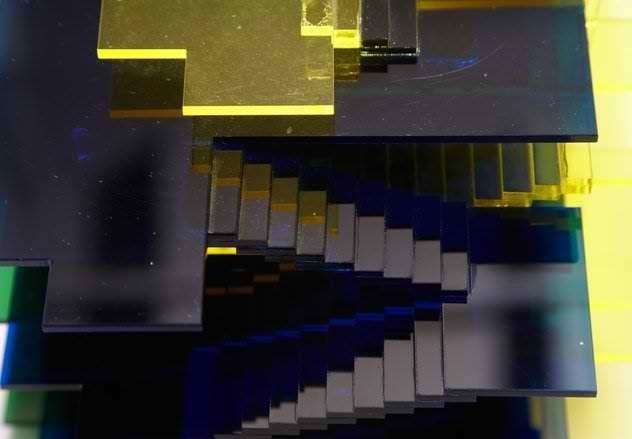 James Angus: Dom-ino Colour Separation image