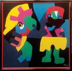 """Karel Appel - Untitled """"Appel 77"""" image"""