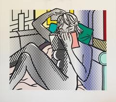 Roy Lichtenstein - Nude Reading image