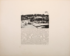 Ian Burn: Systematically Altered Photographs [schoolyard] 1968 image