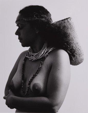 Fiona Foley: Badtjala Woman (two Sets Of Beads)  image