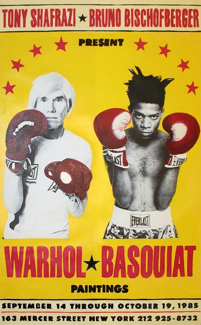 Steve Kaufman - Warhol vs. Basquiat The Exhibition image