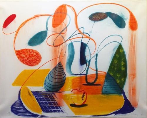 David Hockney - Table Flowable image