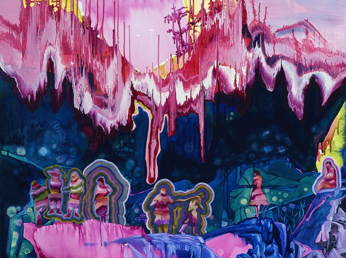 Sky-forest waterhole  image