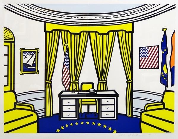 Roy Lichtenstein - Oval Office image
