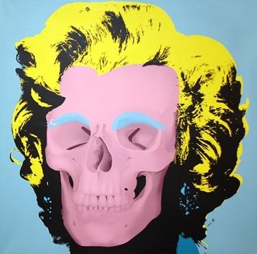 Heidi Popovic - Marilyn Contemporary (Blue) image