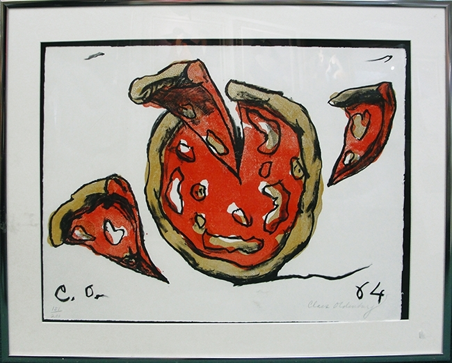 Claes Oldenburg - Flying Pizza image