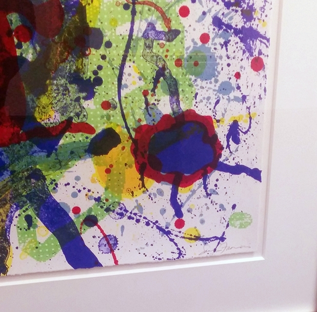 Sam Francis - Untitled Abstract image