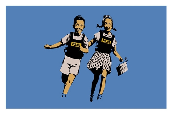 Banksy - Jack and Jill image