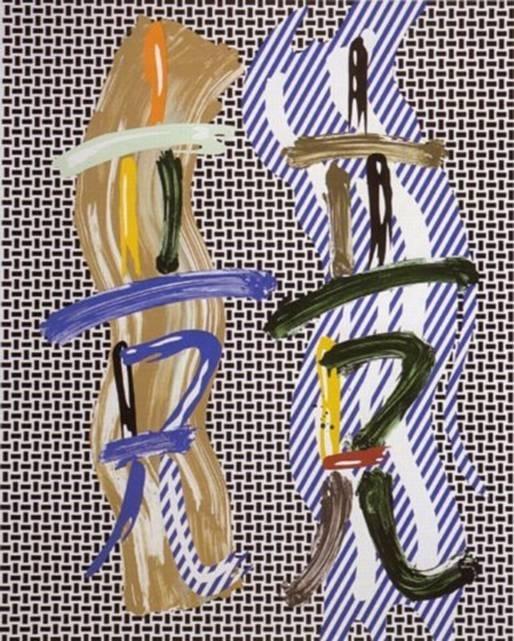 Roy Lichtenstein - Brushstroke Contest image