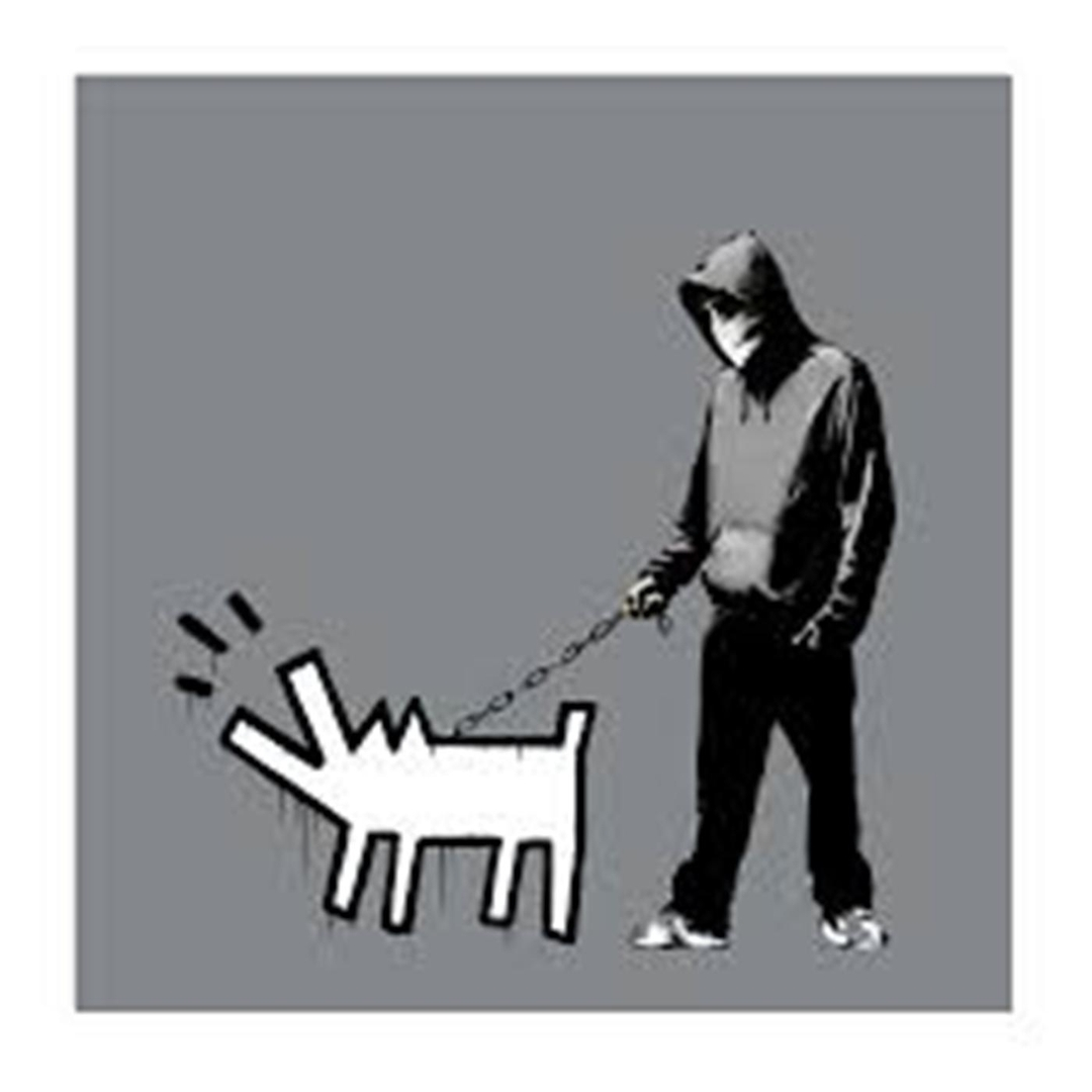 Banksy - Choose Your Weapon (Grey) image