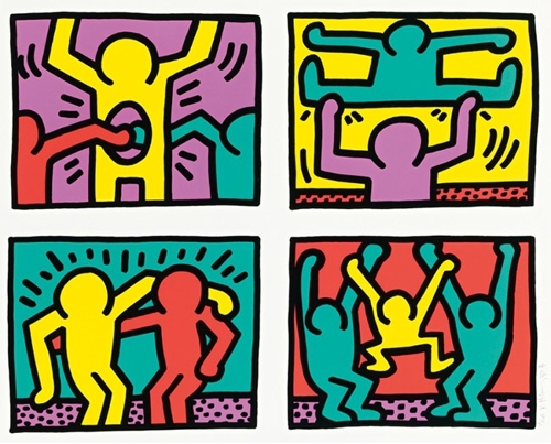 Keith Haring - Pop Shop Quad I image