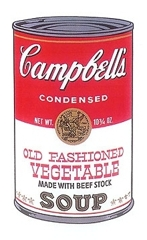Campbell's Old fashioned Vegetable Soup  image