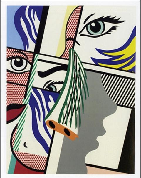 Roy Lichtenstein - Modern Art II image