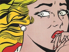 Roy Lichtenstein - Crying Girl image