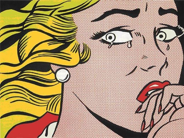 Roy Lichtenstein - Crying Girl image