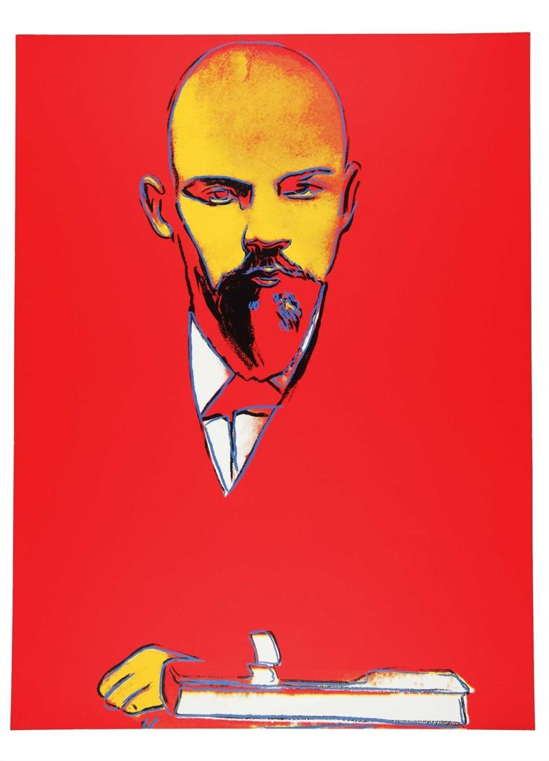 Andy Warhol - Red Lenin (II.403) image
