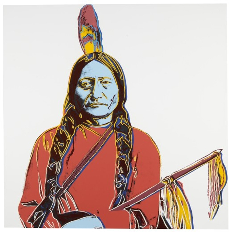 Andy Warhol - Sitting Bull (IIIA.70) image