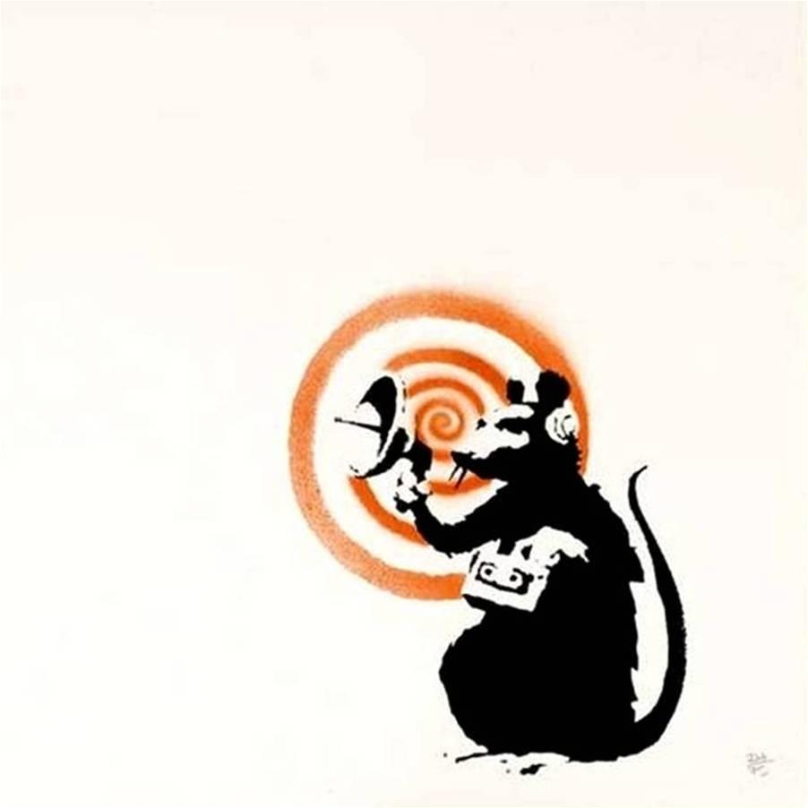 Banksy - Radar Rat  image