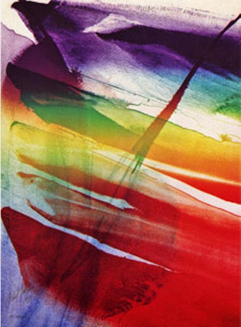 Paul Jenkins - Phenomena Franklin's Kite  image
