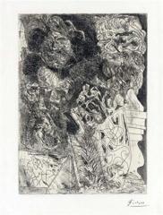 Pablo Picasso - Rembrandt a la Palette  image