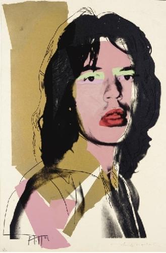 Andy Warhol - Mick Jagger (II.143) image