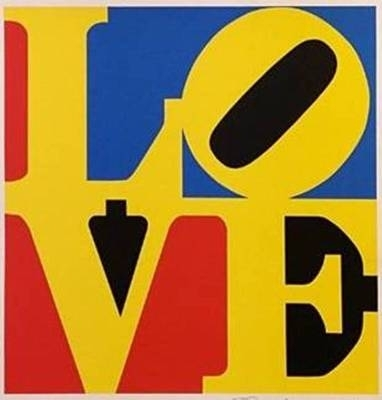 Robert Indiana - LOVE (Red Yellow Blue) image
