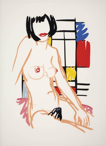 Tom Wesselmann - Monica Sitting with Mondrian image