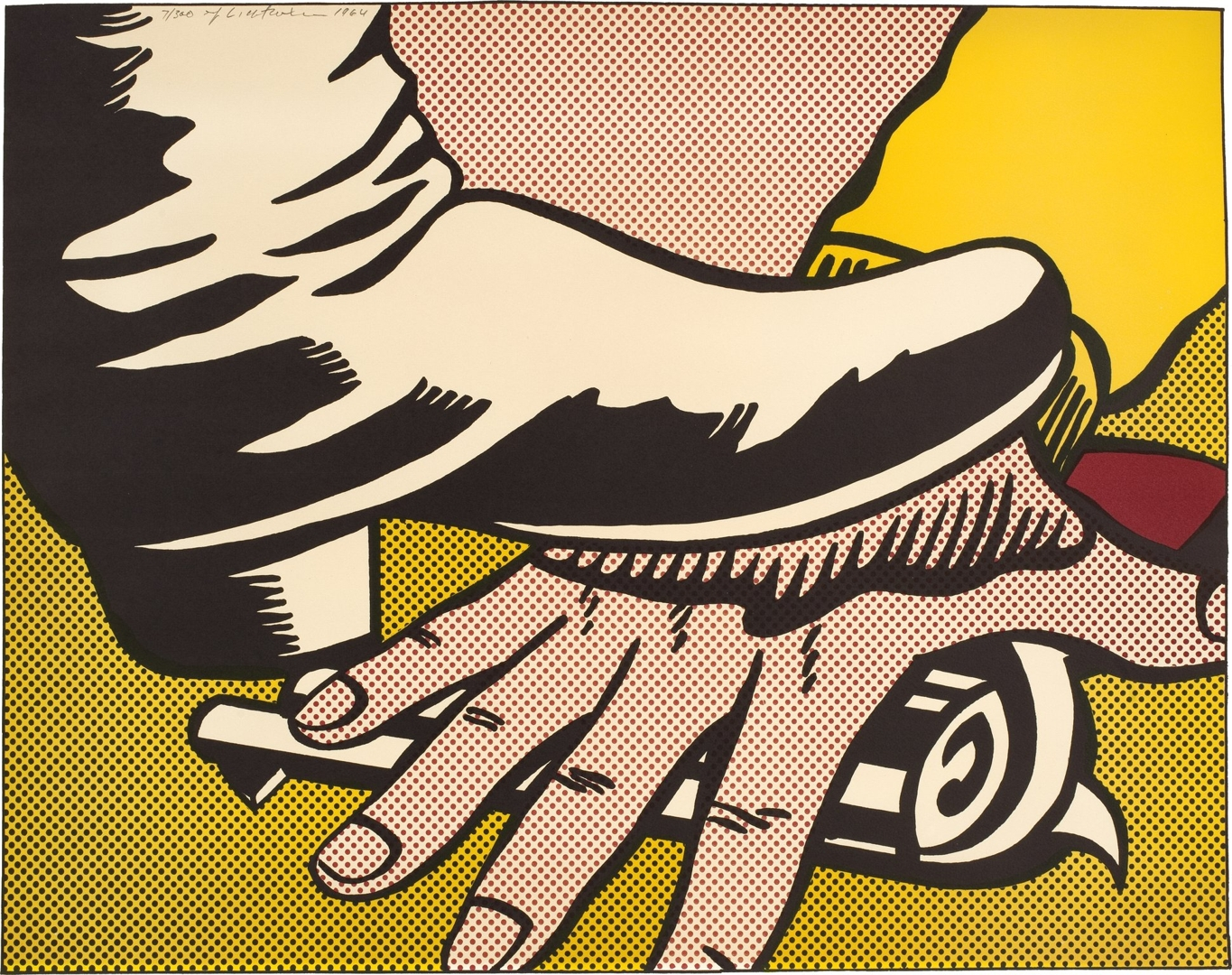 Roy Lichtenstein - Foot and Hand (C. II.4)  image