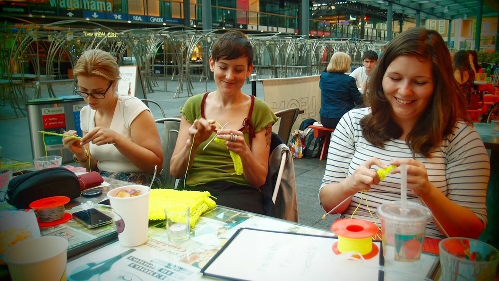 PUBLIC KNITTING PROJECTS image