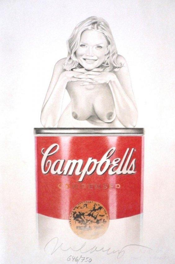 Mel Ramos - Suzy Soup image