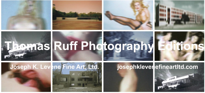 View Thomas Ruff Photography Limited Editions For Sale at Joseph K. Levene Fine Art, Ltd.  image
