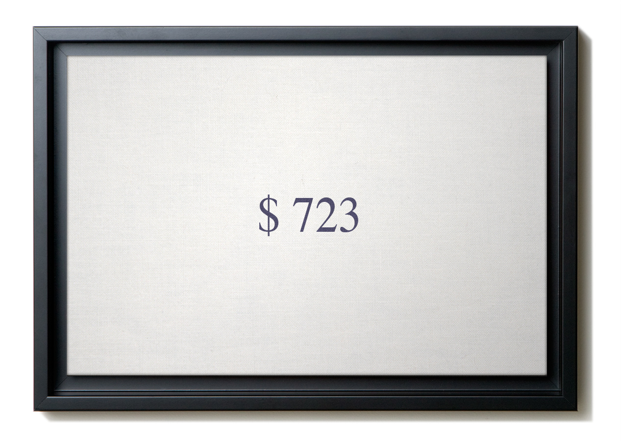 Numbers - $723 image