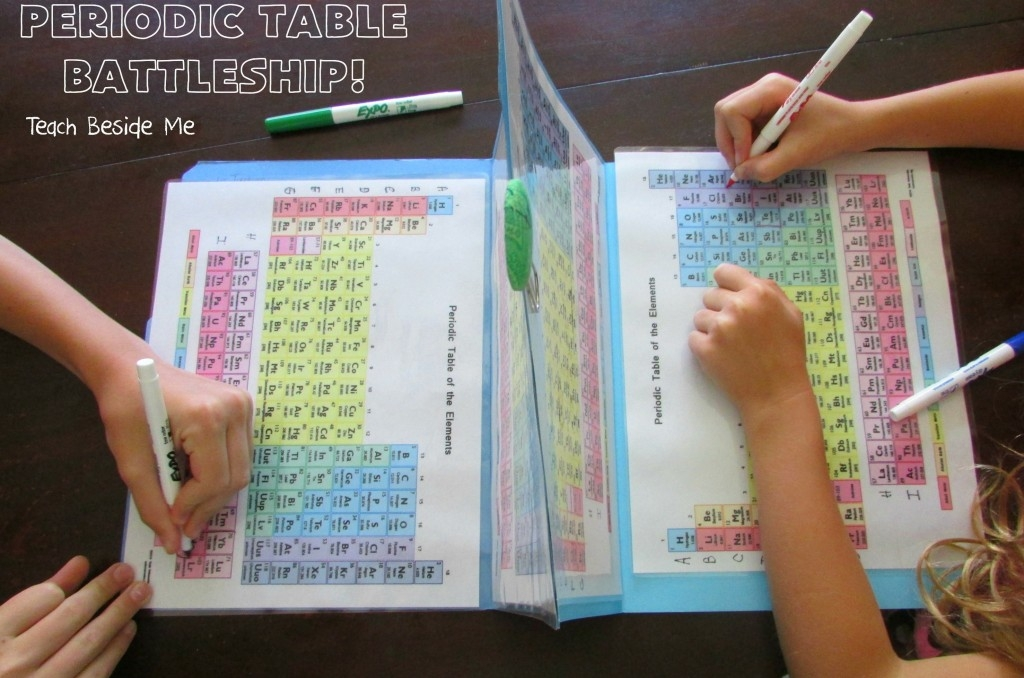 Periodic Table Battleship image