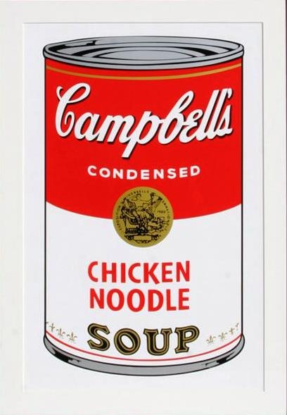 Andy Warhol - Campbell's Chicken Noodle Soup (II.45) image
