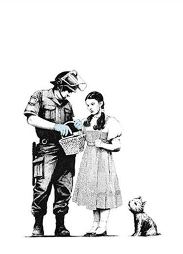 Banksy - Stop and Search image