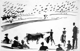 Pablo Picasso - La Tauromaquia Portfolio – Citando a Matar image
