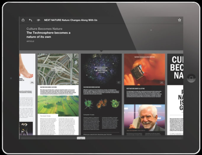 Next Nature Appzine for iPad image