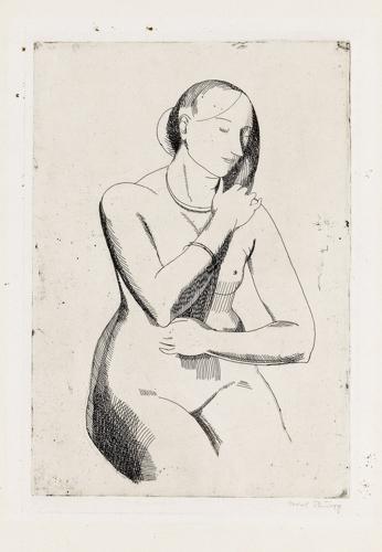 Isabel Bishop - Nude (Front View) image