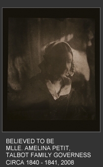 Believed to be MLLE, Amelina Petit, Talbot Family Governess Circa 1840 - 1841 image