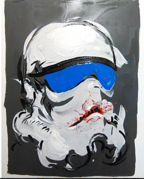 Stormtrooper Star Helmet Wars image
