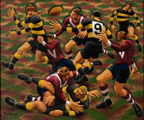 Dance of the football field image
