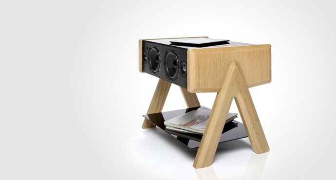 LD Cube+ Speaker furniture La Boite Concept  image