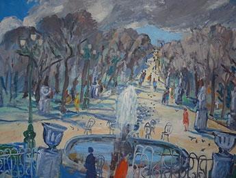 The Tuileries Garden Paris image