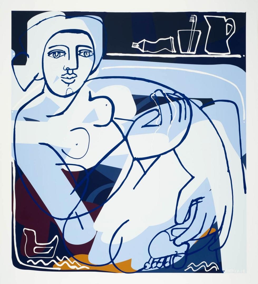 Evening Bath image