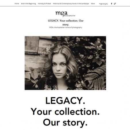 LEGACY dedicated microsite image