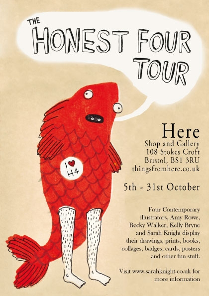 The Honest Four on Tour image