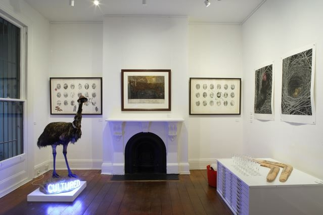 Installation shot 'Visions of a Curious Wonderland' image