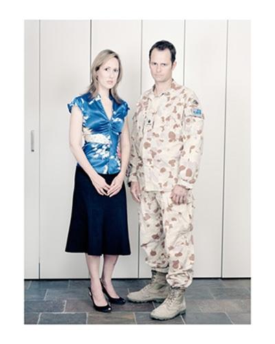 Fiona Glover & Major Calem Glover, 2602 image