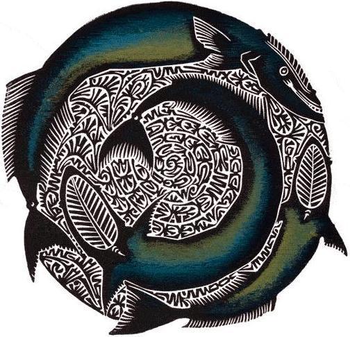 Alick Tipoti 'Gapul' 2006 57 x 38 cm image